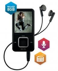 TS1802 MPEG4 / MP3 Player - 8GB TELESYSTEM-0