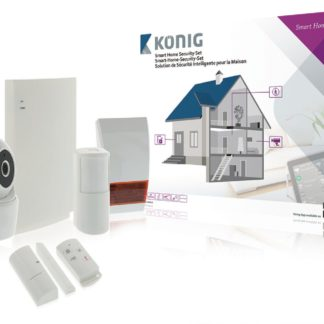 Set intelligente per la sicurezza domestica KÖNIG -0