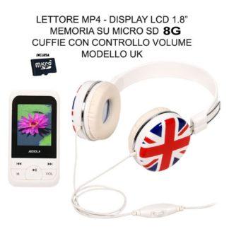 SDA-8262N CF LETTORE MP3 MP4 AUDIOLA CON CUFFIA-0