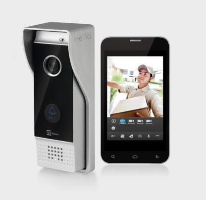 VIDEOCITOFONO WIFI HELLO Smart Doorbell WiFi HD monitoring from smartphone and tablet-0