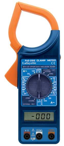 Lafayette PAD-266 Pinza amperometrica con voltaggio DC da 100V a 1000V-0