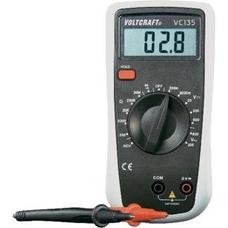 Multimetro digitale con prot. Gomma CONRAD VC135-0