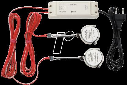 WHD ricevitore Bluetooth BTR 205 con eccitatori - il sistema audio invisibile-0