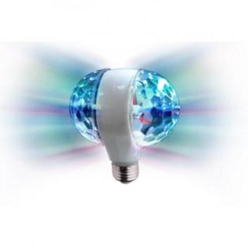 CLB 2 Doppia sfera rotante - 6 x 1W - Attacco E27 Karma-0