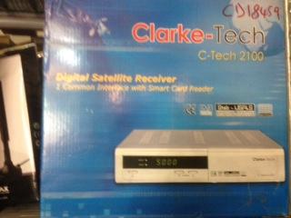 CLARKE-TECH 2100 DECODER SAT C.I.-0