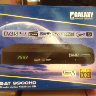 DECODER DDT+SAT C.I. LAN+USB SAT9900HD GALAXY-0