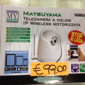 Telecamera motorizzata Night & Day IP - Wi-Fi -0