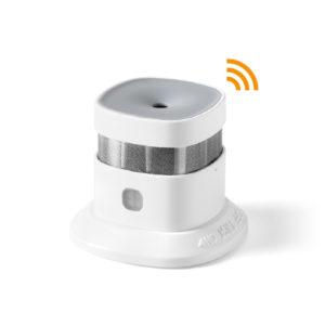 SD100: Sensore fumo wireless Tele System wifi con app sul telefonino-0