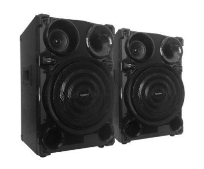 Coppia casse acustiche passive 200W max 3 vie-0
