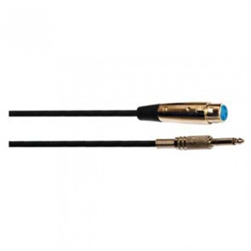 CA 8223 Cavo audio 6mt - 1 x 6,3mm mono + 1 x XLR femmina-0
