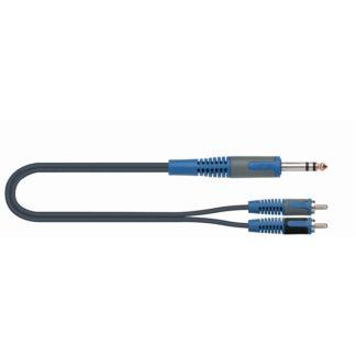 RKSA120-2 CAVO jack stereo 6,3mm -> 2 rca 2 mt-0