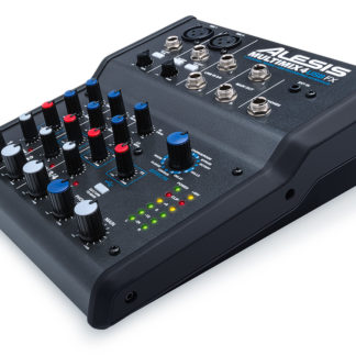 MULTIMIX 4 USB FX 4-Channel Mixer with Effects & USB Audio Interface-0
