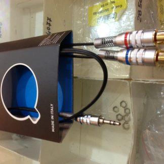 S217-2BK CAVO ADATT. j.stereo-2 RCA 2 mt-0
